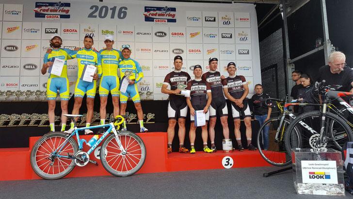 radrooTEAM 2016 // Rad am Ring >>TEAM Wertung Platz 3