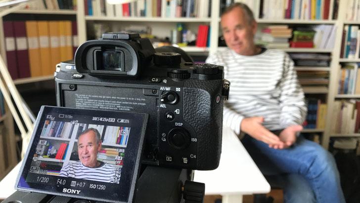 Una conversazione a casa di Björn Larsson