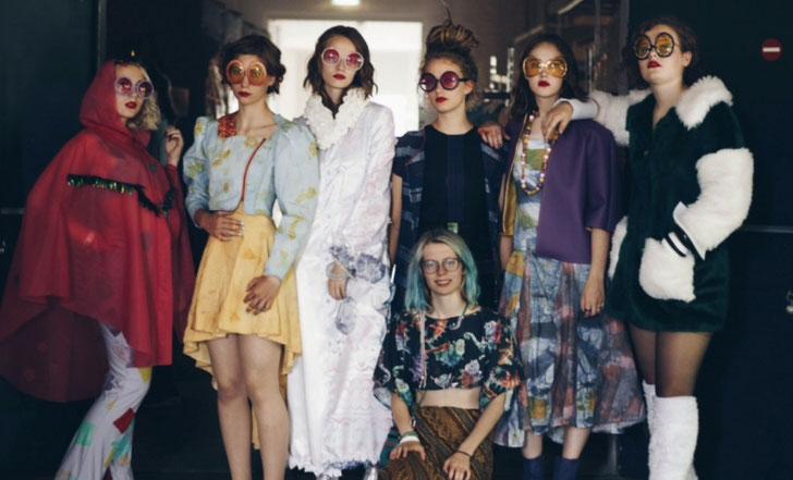 Collectie van Wiepke Wolfsbergen, winnaar Kunstbende fashion 2017