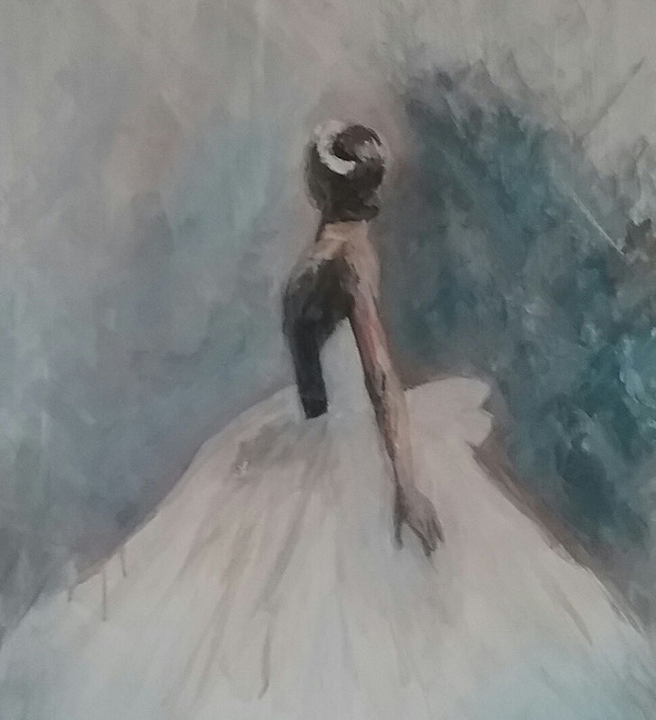Oil on canvas 50x40cm