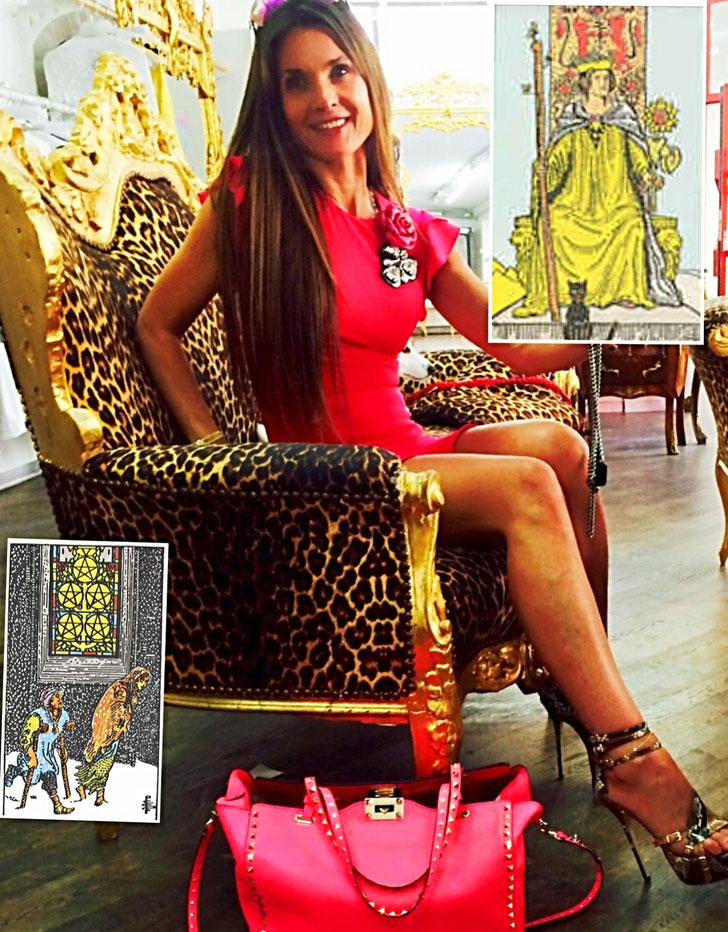 Königin Der Stäbe Fünf Der Münzen Margret Marincolos Website