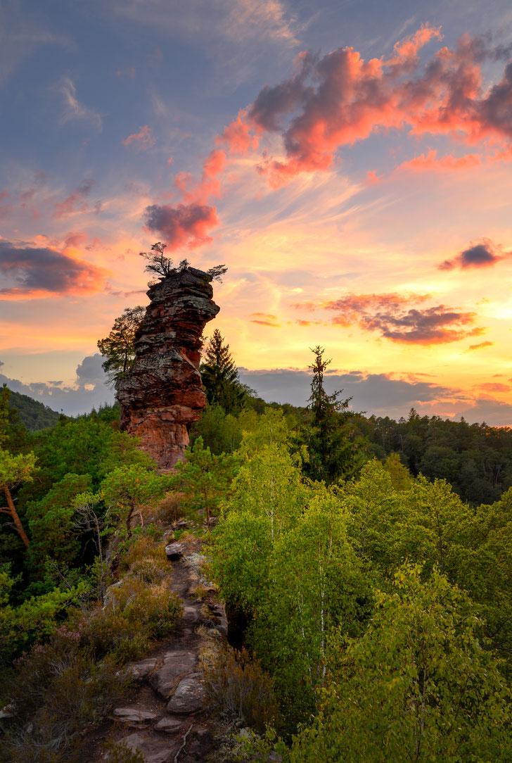 Lämmerfelsen Dahn, dahner Felsenland , Fotospots Pfalz