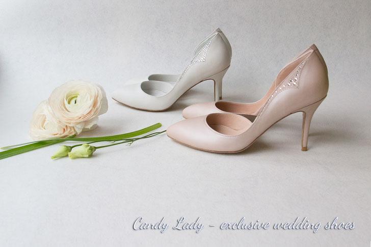белые свадебные туфли СПБ Киев