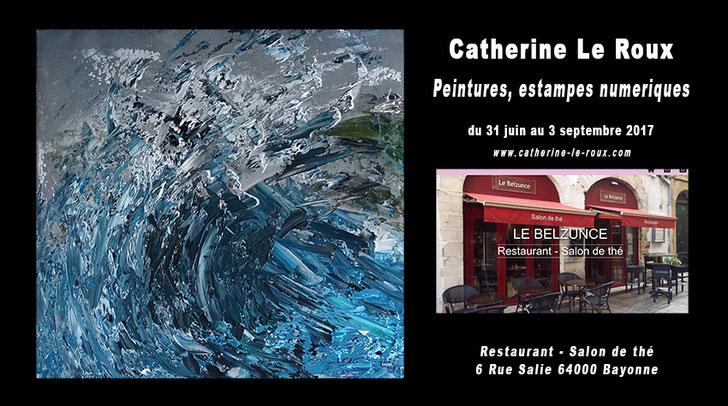 Catherine Le Roux, peintre, graphiste, auteur photographe