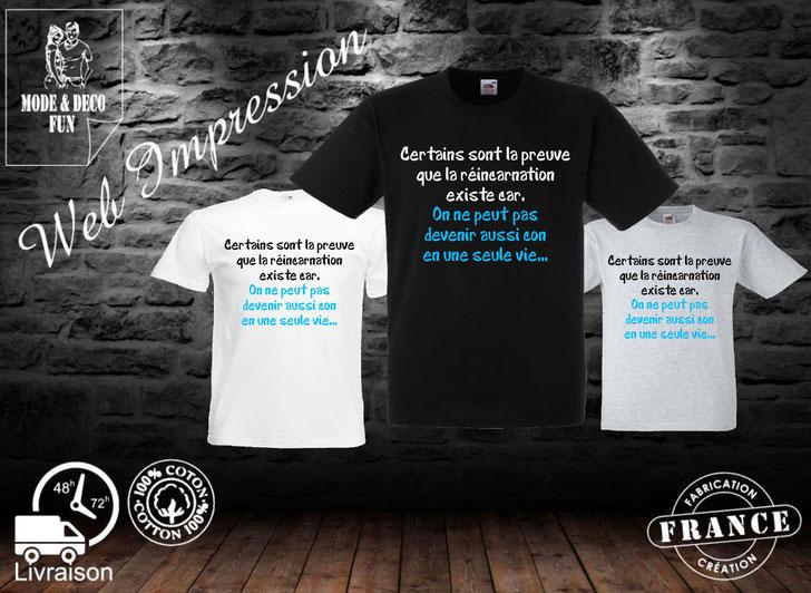 tee shirt homme,création mode et déco fun ,la Croix du perche 28