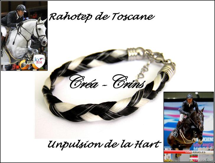 bijou crin cheval poney bracelet
