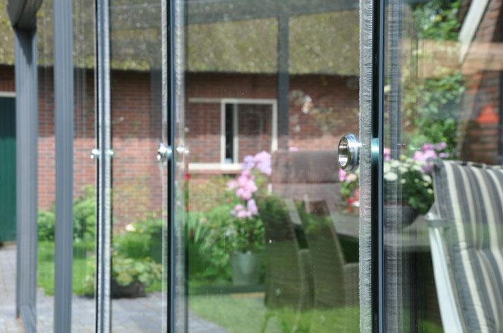 Winddichtprofil Glasschiebewand