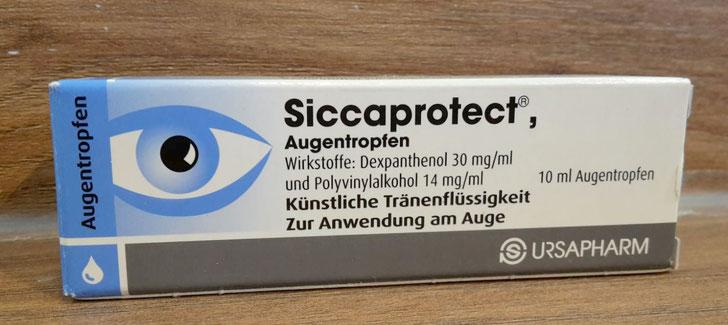 Siccaprotect Augentropfen Abbildung