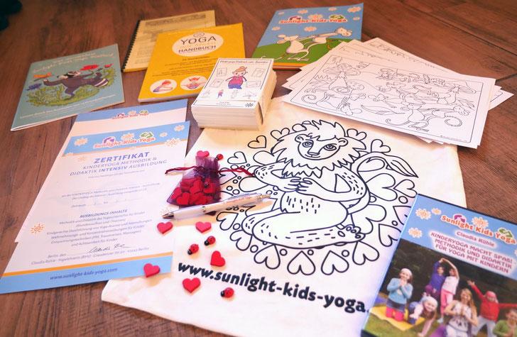 Startderset für den Kinderyoga Unterricht - Als Kinderyogalehrer mit Zertifkat sofort loslegen!