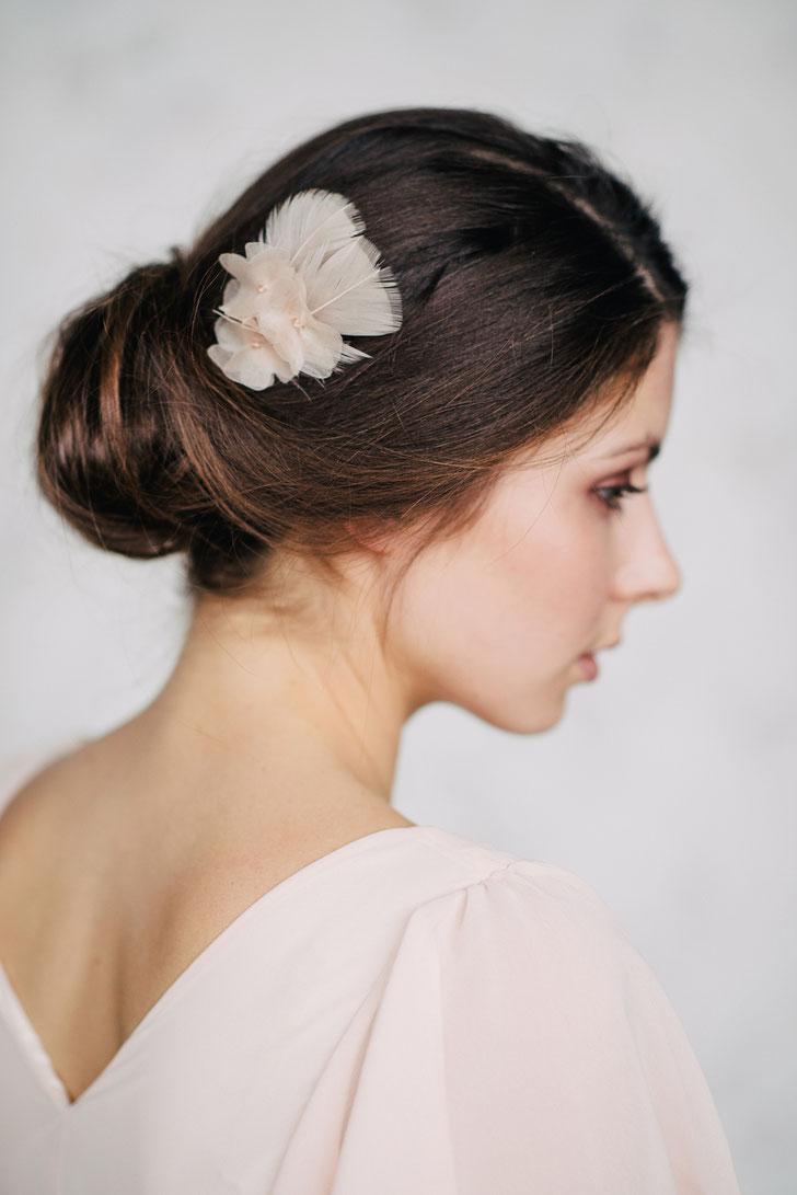 Braut Haarschmuck für Standesamt Hochzeit 2019 Kopfschmuck Braut Trauzeugin Brautjungfer Hochzeitsgast Blumenmädchen