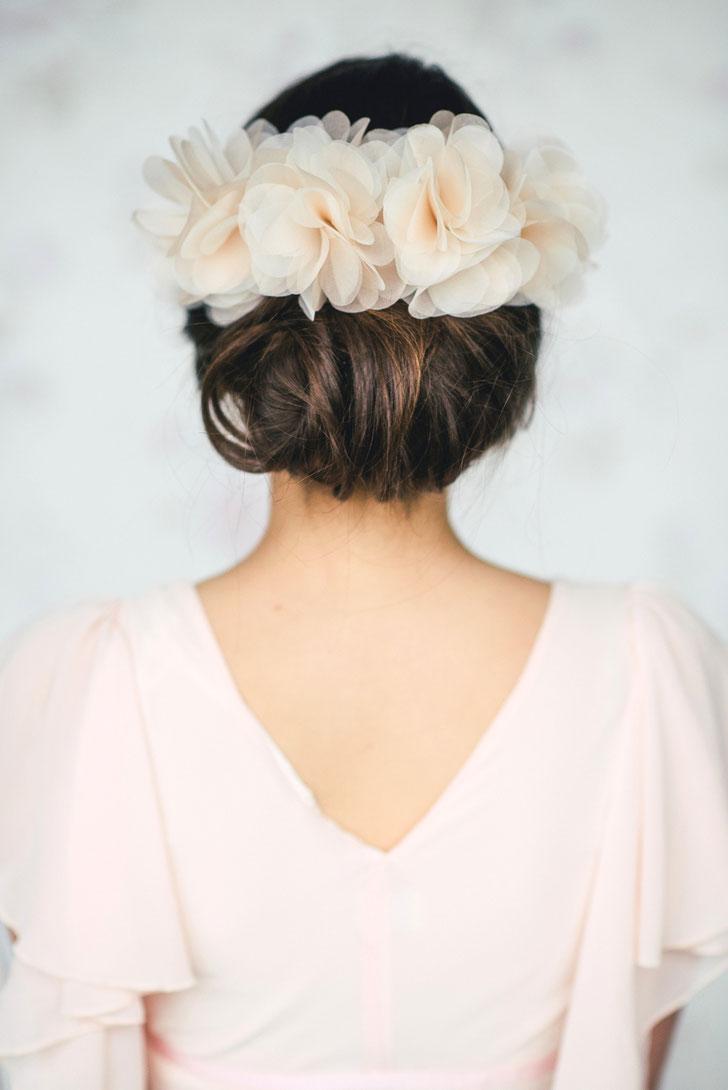 Blumenhaarkranz Braut Haarband Hochzeit 2019 Kopfschmuck Braut Trauzeugin Brautjungfer Hochzeitsgast Blumenmädchen