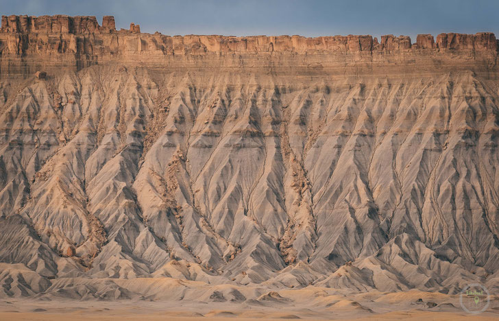 fopanet factory butte Utah Nahaufnahme usa amerika struktur sandstein cainville badlands