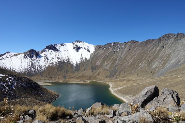 Auf dem Vulkan Toluca