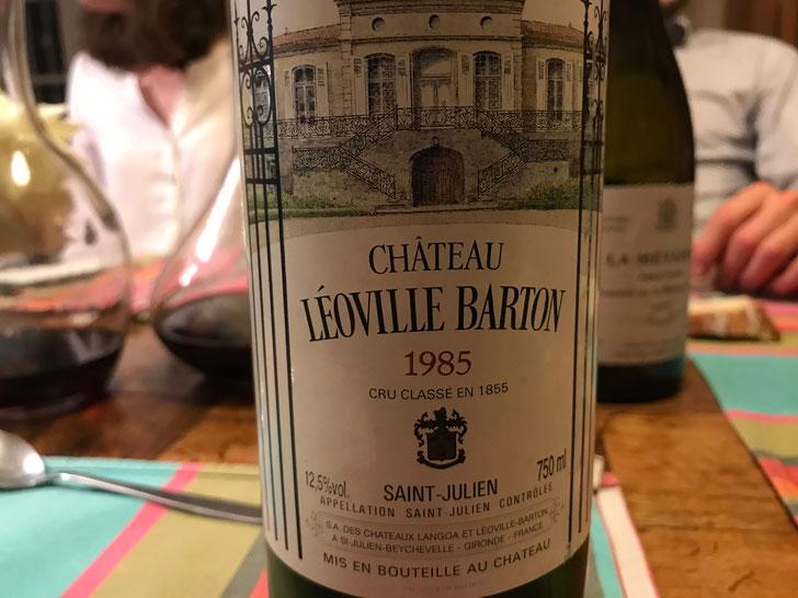 Dinner Tasting - Chateau Leoville Barton 1985