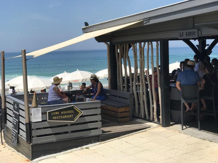 Beachside restaurant, Lacanau Plage
