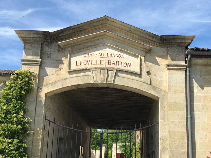 Chateau Langoa & Leoville Barton entrance, St Julien