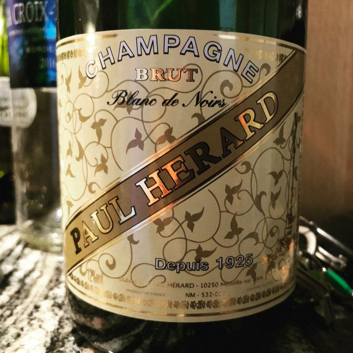 Dinner Tasting - Champagne Paul Herard