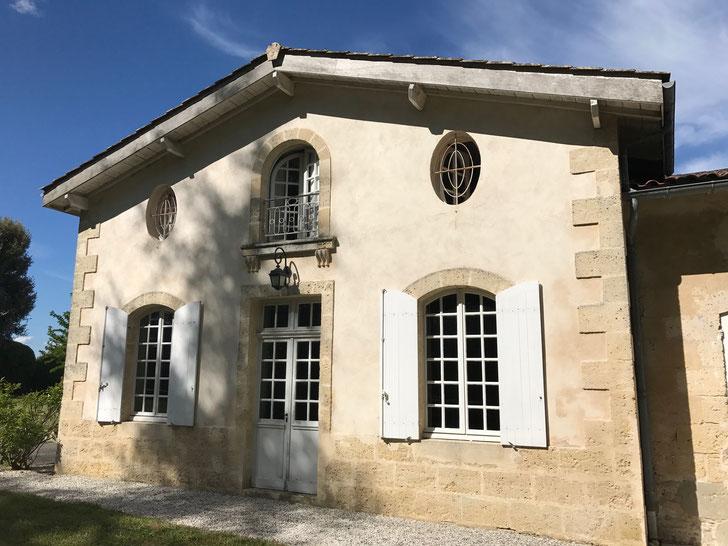 My accommodation at Chateau Mauvesin Barton