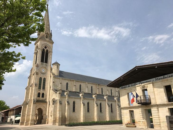 Carcans Church, Carcans