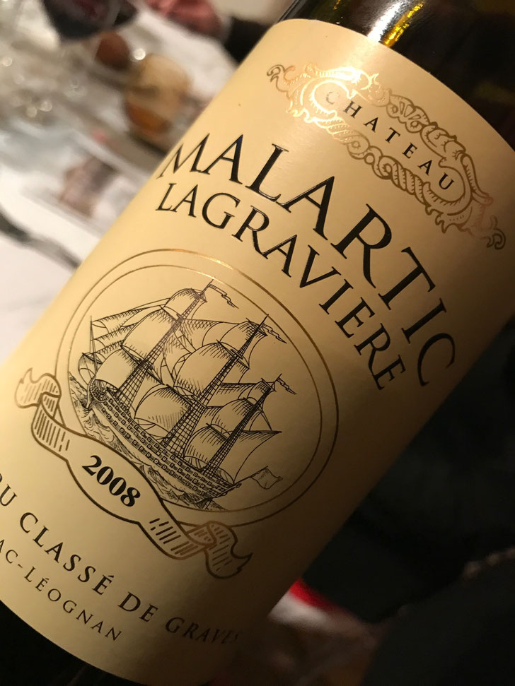 Chateau Malartic - Lagraviere Rouge 2008