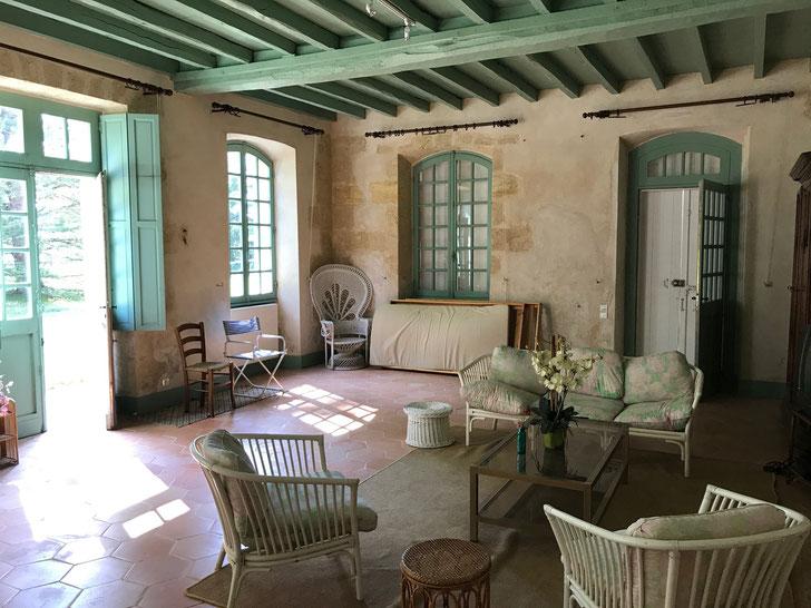 My living room - Chateau Mauvesin Barton