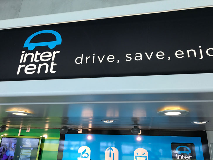 Inter rent car rental - good service