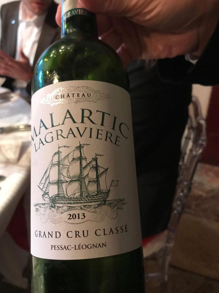 Chateau Malartic - Lagraviere Blanc 2013