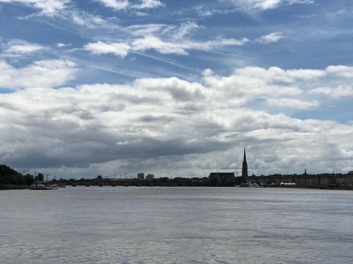 The beautiful Bordeaux city