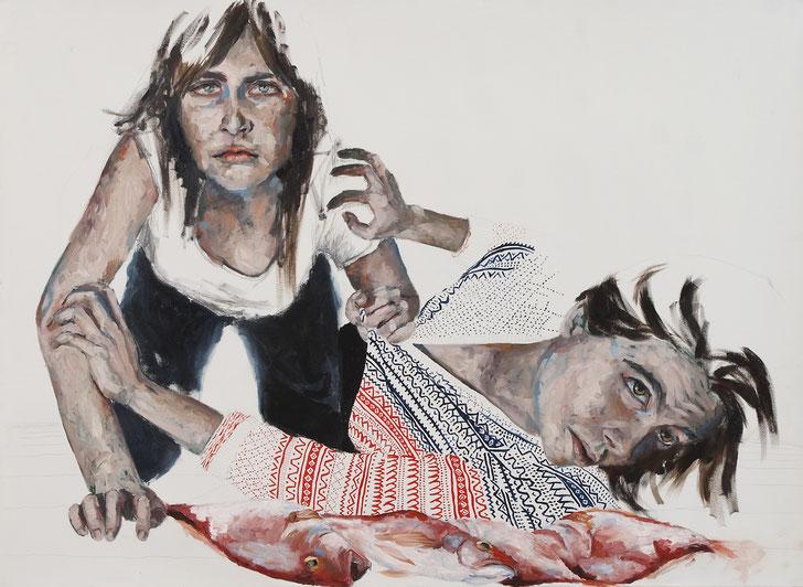 Öl auf Leinwand, 107 x 75 cm, 2012