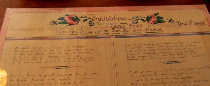 Epithalame - Les Aigladines (Mialet) - 1921