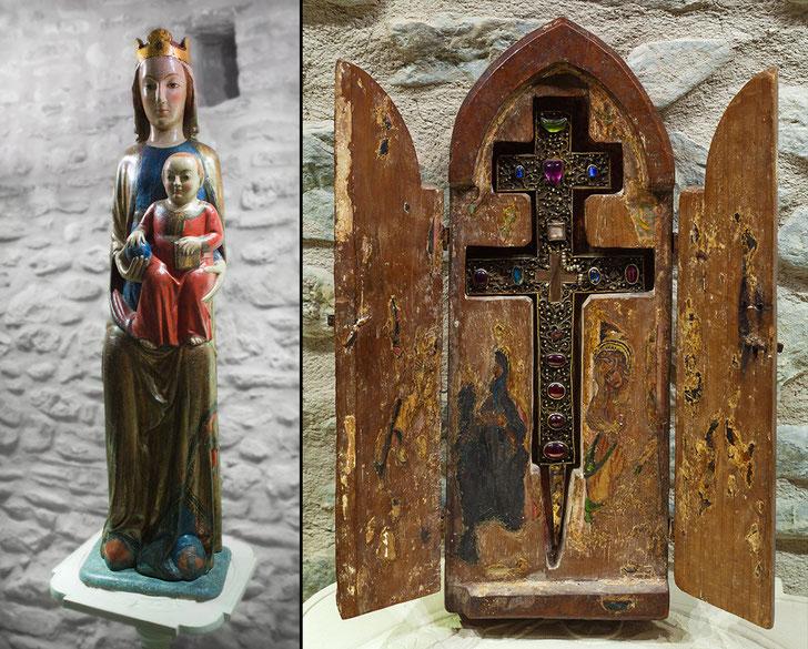La Vera Croce e Madonna con il Bambino