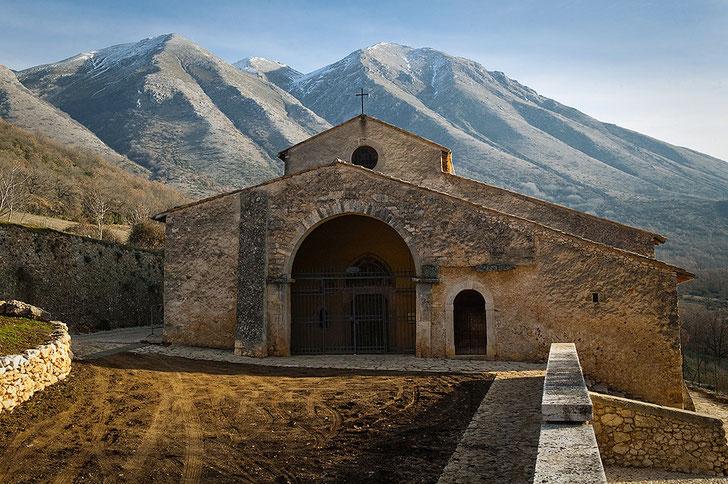 Santa Maria in Val Porclaneta, Abruzzo
