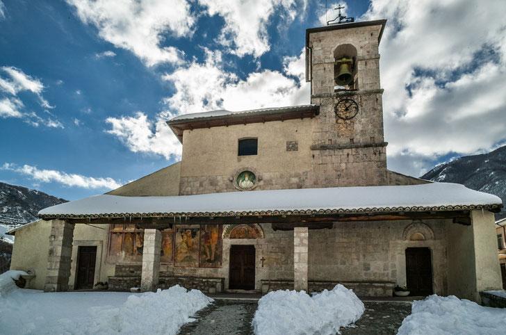 San Panfilo a Tornimparte, L'Aquila  © foto Paradisi