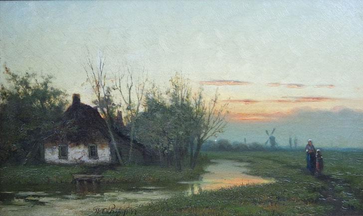 schilderij_van_Willem_Cornelis_Rip_1856-1922_De_Haagse_School
