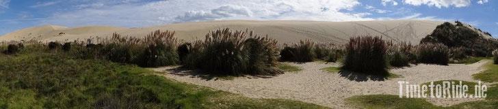 Neuseeland - Motorrad - Reise - Te Paki Sanddünen