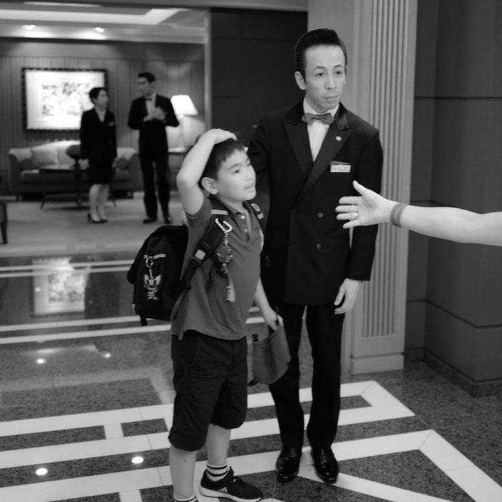 Leica Q  帝国ホテル レセゾン