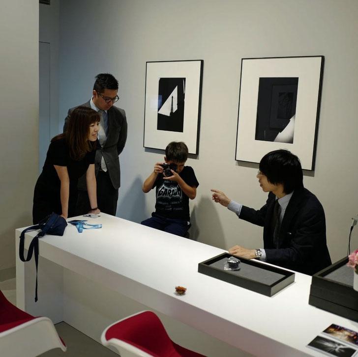 画像: Leica Ginza Sixでの講習会の様子