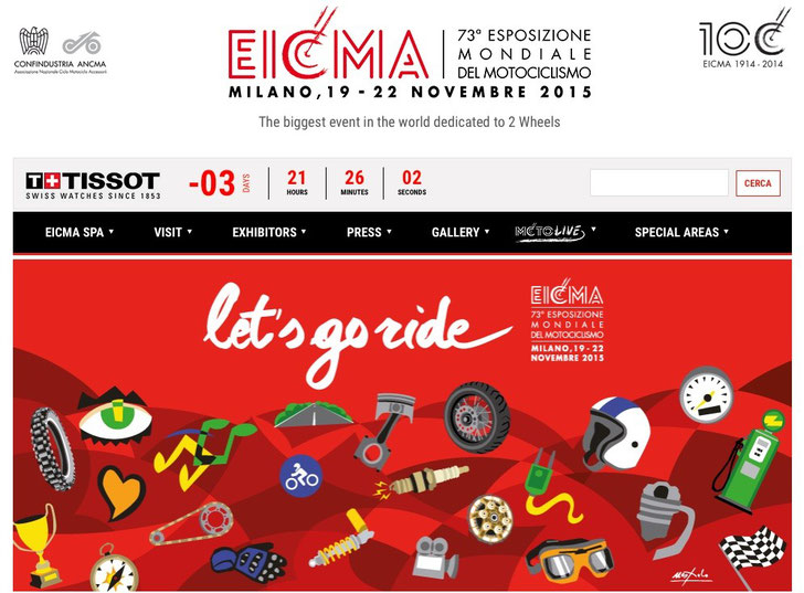 EICMA 2015 Website