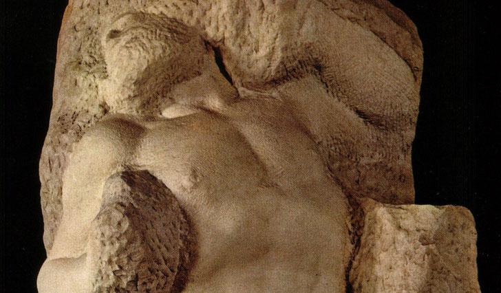 """Michelangelo, """"Schiavo che si ridesta"""""""