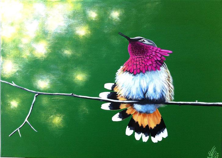 """""""Sunday"""", 2012,  acrylic on canvas, 50x70"""