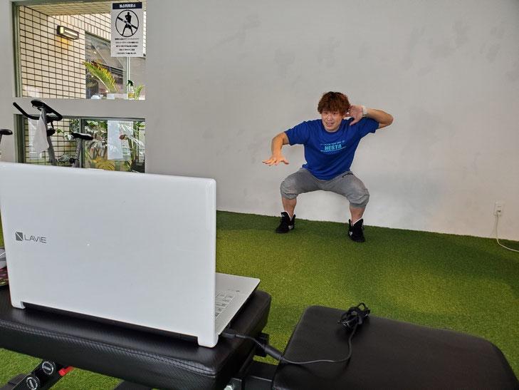 運動に不安のある人の為のトレーニング動画