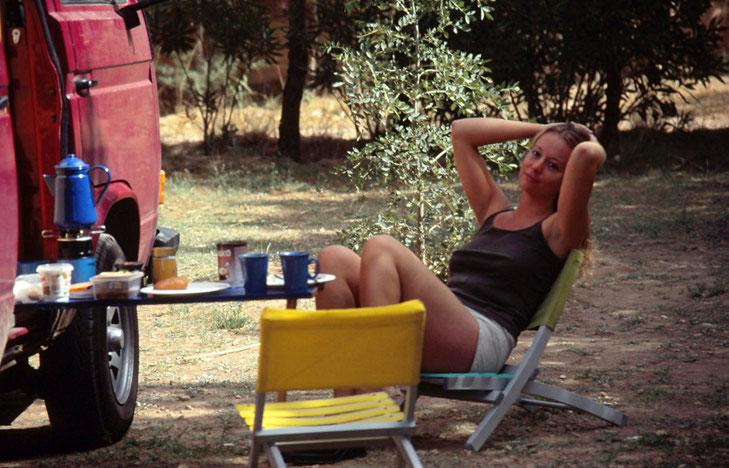 2001 - CAMPING-LEBEN
