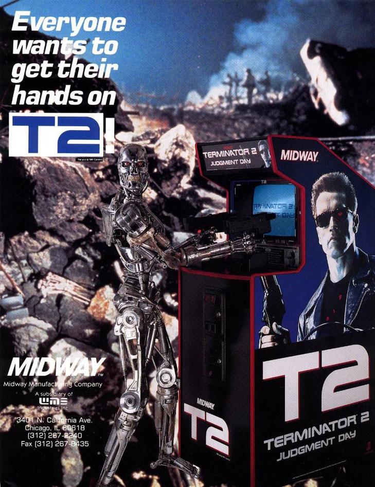 Terminator 2 - Judgment Day arcade