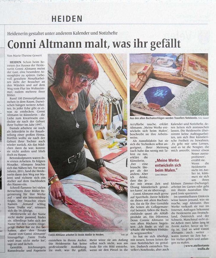 Conni Altmann Borkener Zeitung 31.10.2020
