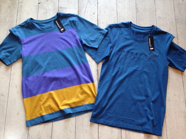 NORRONA(ノローナ)29 cotton T-shirt 各¥5,400(税込)