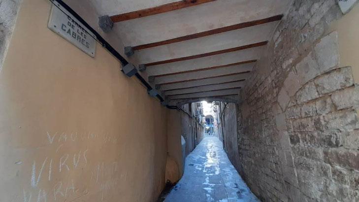 Улица Коз -  секреты старой Барселоны