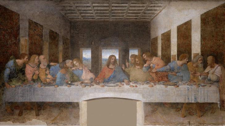 Тайная ввечеря Леонардо да Винчи