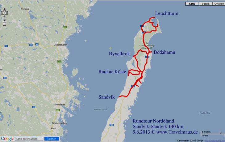 Tagestour 9.6.2013 Nordöland