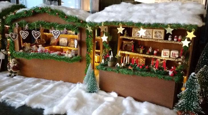 Miniatur-Weihnachtsmarkt