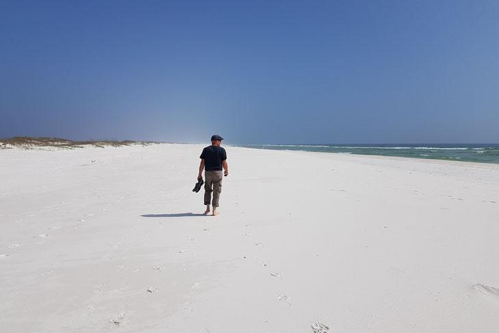 Sand so weiss wie Schnee...